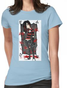 EMO- Wonder Boy Apathetic Womens Fitted T-Shirt