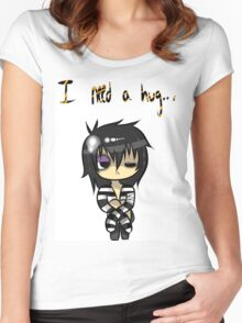 EMO- Say no To Bullying Women's Fitted Scoop T-Shirt