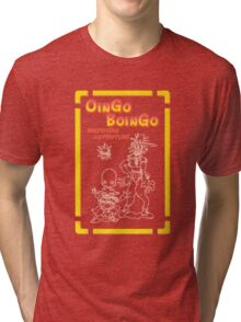 OINGO BOINGO BROTHERS ADVENTURE Tri-blend T-Shirt