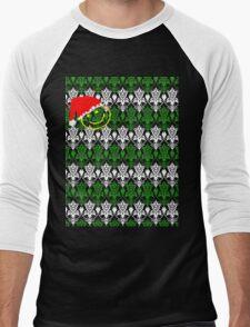 Christmas at 8-Bit 221B Men's Baseball ¾ T-Shirt