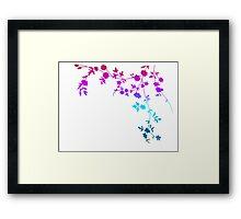 Flower Corner Framed Print