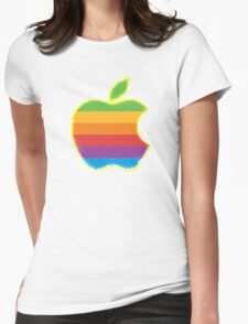 Apple Revamped (Energy) Womens Fitted T-Shirt
