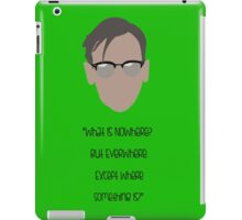 Gotham, Nygma, Quote iPad Case/Skin