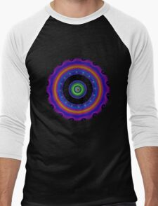 Fractal - Psychedelic Mathematics of the Infinite! Men's Baseball ¾ T-Shirt