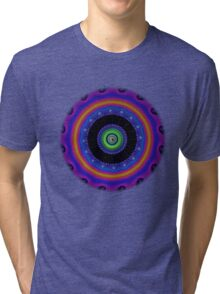 Fractal - Psychedelic Mathematics of the Infinite! Tri-blend T-Shirt