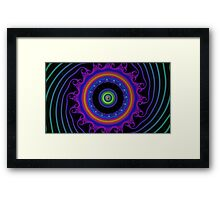 Fractal - Psychedelic Mathematics of the Infinite! Framed Print