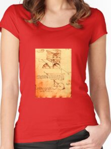 RENAISSANCE ARCHITECTURE,ARCHITECT,ENGINEER Women's Fitted Scoop T-Shirt