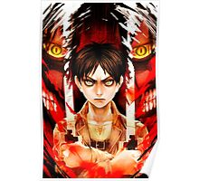SNK - AoT - Attack on Titan - Eren Jeager Poster