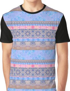 Lavender and Pink, Purple and Blue - Ribbons Graphic T-Shirt