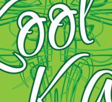 Kool Kat Pinstriping THE STICKER Sticker