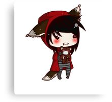 EMO- Red Riding Hood and The Wolf Pack Canvas Print