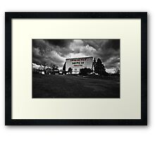 Drive-In Theater Selective Color I Framed Print