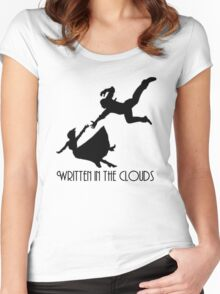 written in the clouds Women's Fitted Scoop T-Shirt