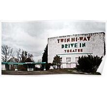 Drive-In Theater TiltShift Poster