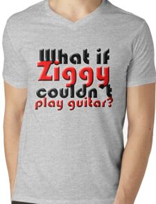 What if Ziggy couldn't play guitar? Mens V-Neck T-Shirt