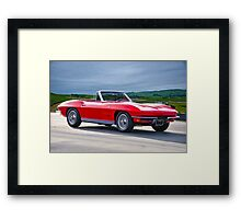 1964 Corvette C2 Convertible Framed Print