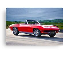 1964 Corvette C2 Convertible Canvas Print