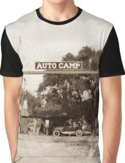 Route 66 Auto Camp Graphic T-Shirt