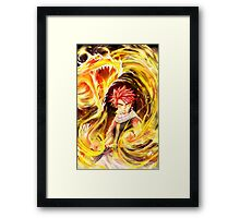 Fairy Tail - Natsu Dragon Slayer Framed Print