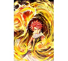 Fairy Tail - Natsu Dragon Slayer Photographic Print