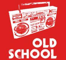 Old School - Boom Box Kids Tee