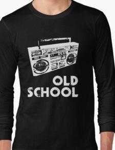 Old School - Boom Box Long Sleeve T-Shirt