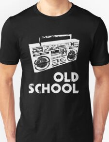 Old School - Boom Box Unisex T-Shirt