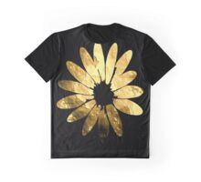Golden flower Graphic T-Shirt