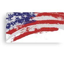 US Flag Design Canvas Print