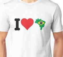 I Heart Brazil Unisex T-Shirt