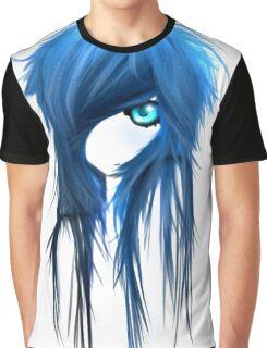 EMO- Blue Eyes White Dragon Graphic T-Shirt