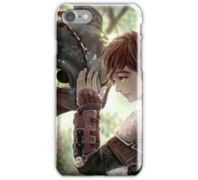HTTYD - How to Train Your Dragon - Hiccup & Toothless iPhone Case/Skin