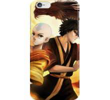Avatar the Last Airbender - Aang & Zuko iPhone Case/Skin
