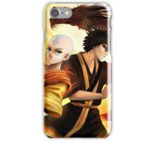 Avatar the Last Airbender - Aang & Zuko iPhone Case/Skin