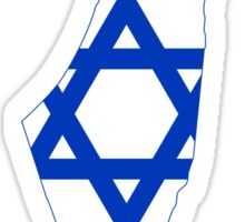 Israel Map Flag Sticker