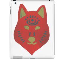 Red Spirit Wolf—Home & Office iPad Case/Skin