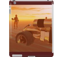 ARES CYBORG IN THE DESERT OF HYPERION,Sci Fi iPad Case/Skin