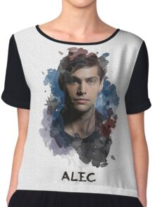 Alec - Shadowhunters - Canvas Chiffon Top