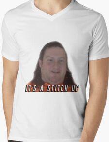 It's a stitch up  Mens V-Neck T-Shirt
