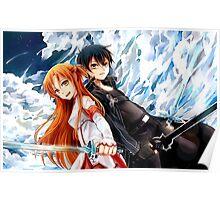SAO - Sword Art Online - Kirito & Asuna Poster
