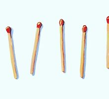 Many Matchsticks by Megan  Koth