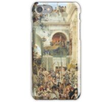 Spring by Lawrence Alma-Tadema iPhone Case/Skin