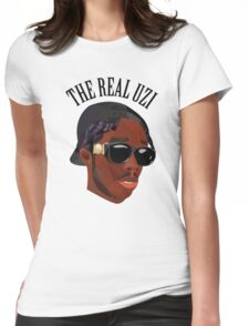 THE REAL UZI Womens Fitted T-Shirt