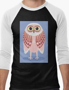 OWL SCOWL  Men's Baseball ¾ T-Shirt