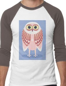 OWL SCOWL  Men's Baseball ¾ T-Shirt