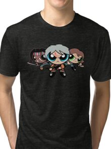 The Walkerpuff Girls Tri-blend T-Shirt