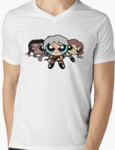 The Walkerpuff Girls Mens V-Neck T-Shirt