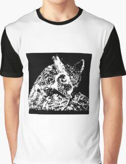 black owl Graphic T-Shirt