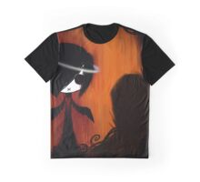 EMO- Angel In Disguise Halo Graphic T-Shirt