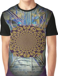 The Psychedelic Voice of the City of New York Interpreted Graphic T-Shirt